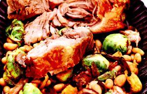 Friptura de porc inabusita cu cartofi gratinati