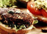 Hamburger vegetarian fara gluten