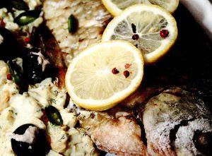 Salau umplut cu pasta de peste (ansoa - sardele)