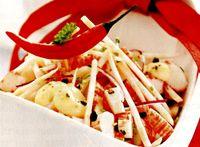 Salată de ţelina cu rosii si tarhon