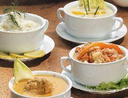 Supă cu carne de capră şi tarhon