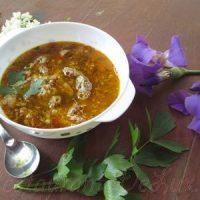 Ciorba de miel cu legume si orez