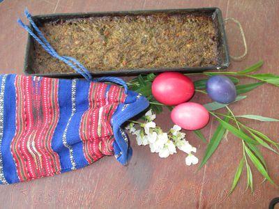 Drob de miel preparat in mod traditional
