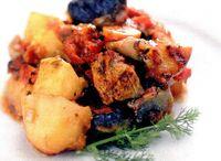Mancare de ciuperci cu roşii