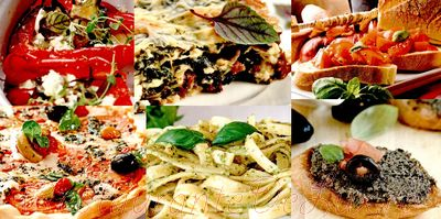 Salata italiana cu legume