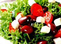 Roasted Olives in Feta Cheese