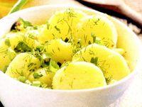 Cartofi cu margarina si verdeata