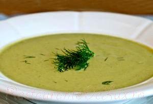 Supa de dovlecei cu carne