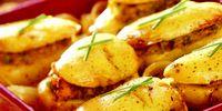 Cartofi umpluti cu zarzavat
