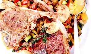 Carne de berbecut cu legume