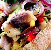 Salata de hering cu masline