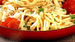 Spaghete_cu_nuci_rosii_si_parmezan
