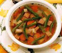 Supa de fasole verde cu chisatura