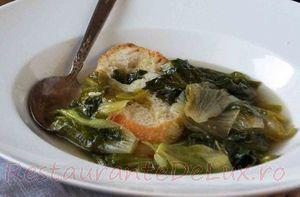 Supa de salata cu ansoa