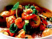 Creveti cu curry