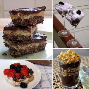 Prajitura cu crema de cacao si glazura de ciocolata