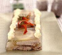 Piftie de peste cu morcov si usturoi