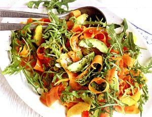 Salata_de_avocado_cu morcovi_si_rucola