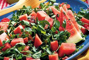 Salata cu pepene si fistic