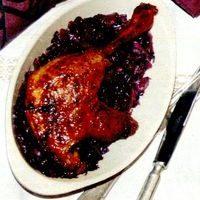 Pulpe de rata cu sos de prune