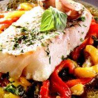 Salata cu file de cod