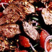 Salata_cu_carne_de_rata_si_grepfrut_rosu