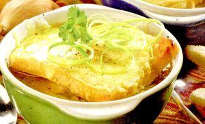 Supa de ceapa cu margarina
