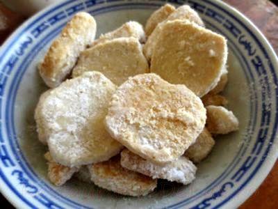 Biscuiti cu coaja de lamaie