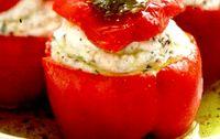 Gogosari umpluti cu salata de legume