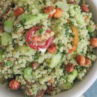 Salata cu naut copt