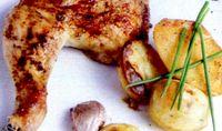 Friptura de pasare cu cartofi