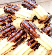 Fursecuri cu glazura de ciocolata