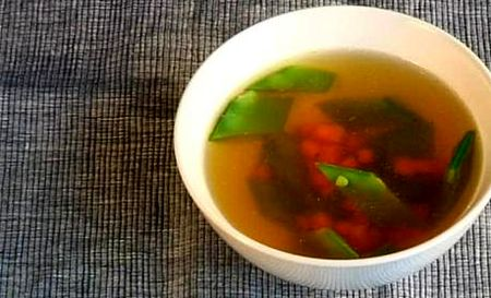 Supa limpede de carne (Consomme)