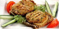 Hamburger cu legume si tarhon