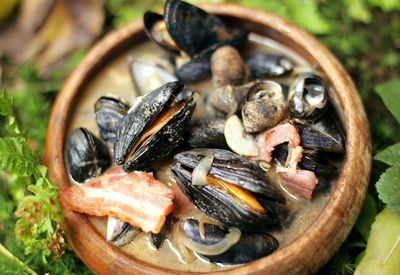 Mussel_and_bacon_Stew