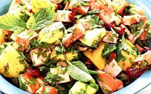Salata verde cu sunca