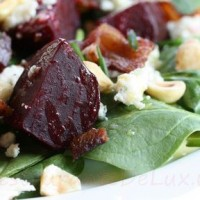 Salata de spanac si sfecla