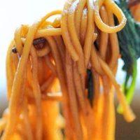 Spaghete fara ou cu legume