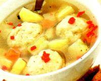 Supa cu legume şi găluşte