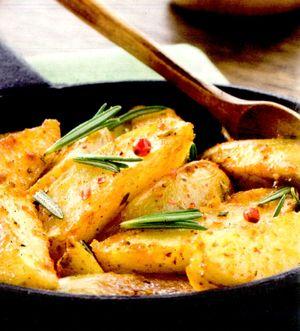 Cartofi cu ou si branza la cuptor