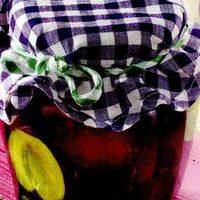 Compot de prune brumarii cu mirodenii