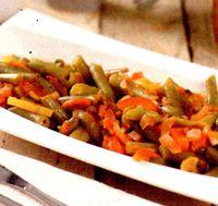 Fasole boabe cu sos tomat