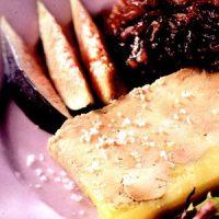 Foie gras cu dulceata
