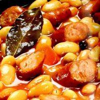 Iahnie de fasole boabe cu pastarnac