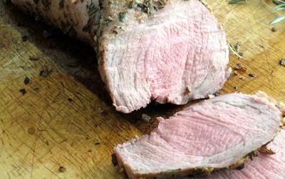 Muschiulet de porc cu sos de ananas