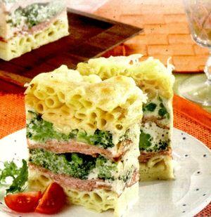 Paste_cu_broccoli_si_sunca_presata_la_cuptor