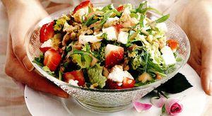 Salata cu capsune