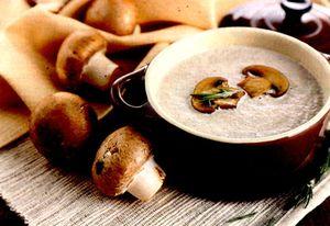 Supa de ciuperci (Pitarca)