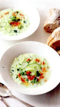 Supă rece de legume pasate