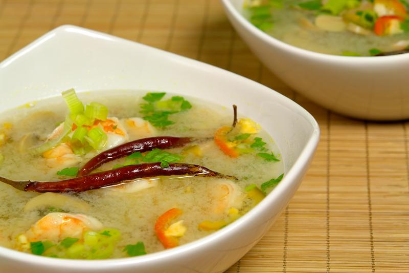 Supa de orez cu cascaval